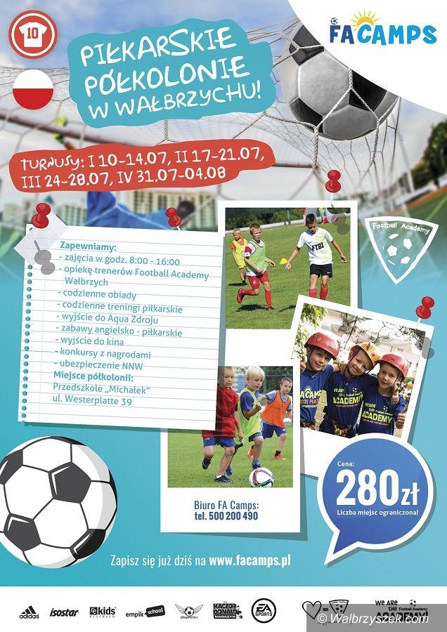 Wałbrzych: Football Academy zorganizuje półkolonie