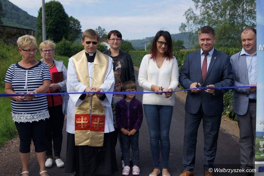REGION, Unisław Śląski: Droga w Unisławiu już otwarta