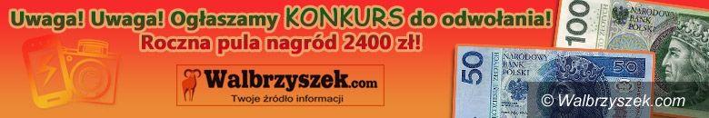 Wałbrzych: Uwaga! Konkurs Walbrzyszka.com! Roczna pula nagród 2400 zł!