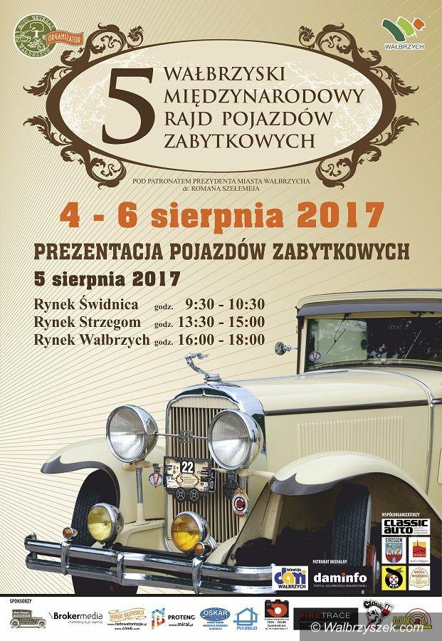 Wałbrzych: Klasyki motoryzacji zjadą do Wałbrzycha