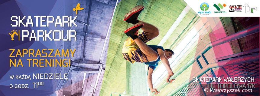 Wałbrzych: Treningi na skateparku