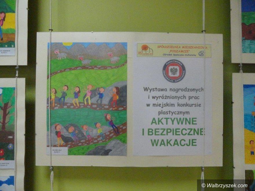 """Wałbrzych: Zakończenie konkursu """"Aktywne i bezpieczne wakacje"""""""