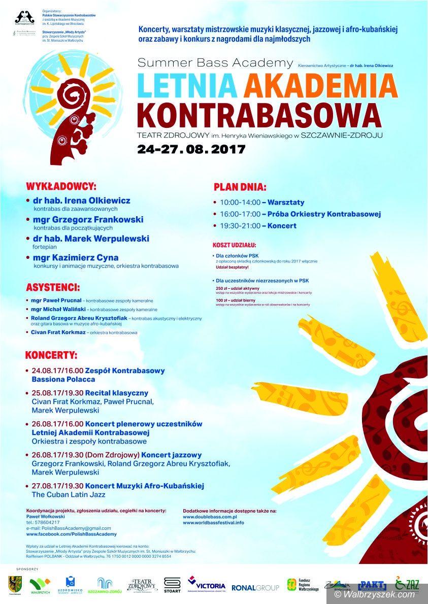 REGION, Szczawno-Zdrój: Przed nami I Letnia Akademia Kontrabasowa