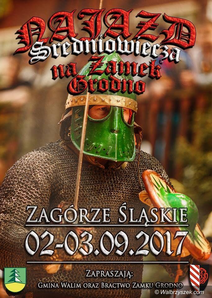 REGION, Zagórze Śl.: Prawdziwy najazd na Zamek Grodno