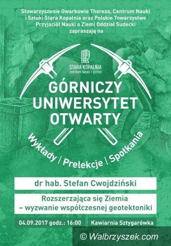 Wałbrzych: Górniczy Uniwersytet Otwarty wraca po letniej przerwie