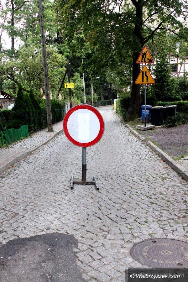 REGION, Szczawno-Zdrój: Ulice Krótka i Nizinna w przebudowie