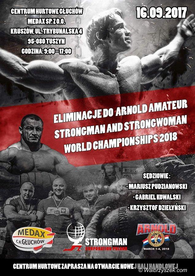 Jaczków: Strongman z Jaczkowa znów pokazał się z dobrej strony