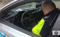 REGION, Nowy Julianów: Nietrzeźwy kierujący nie zatrzymał się do kontroli drogowej i spowodował kolizję
