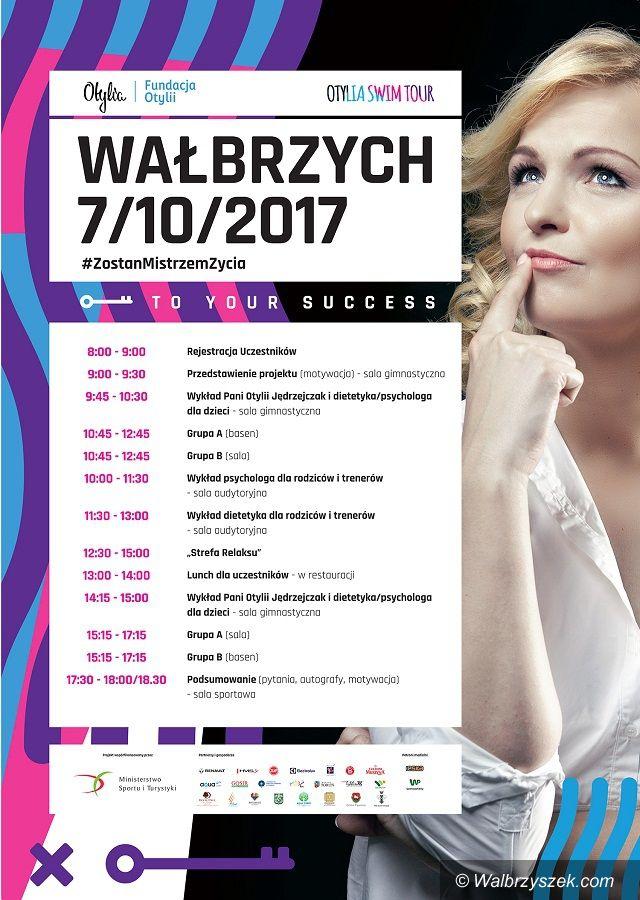 Wałbrzych: Otylia Jędrzejczak już w sobotę w Wałbrzychu