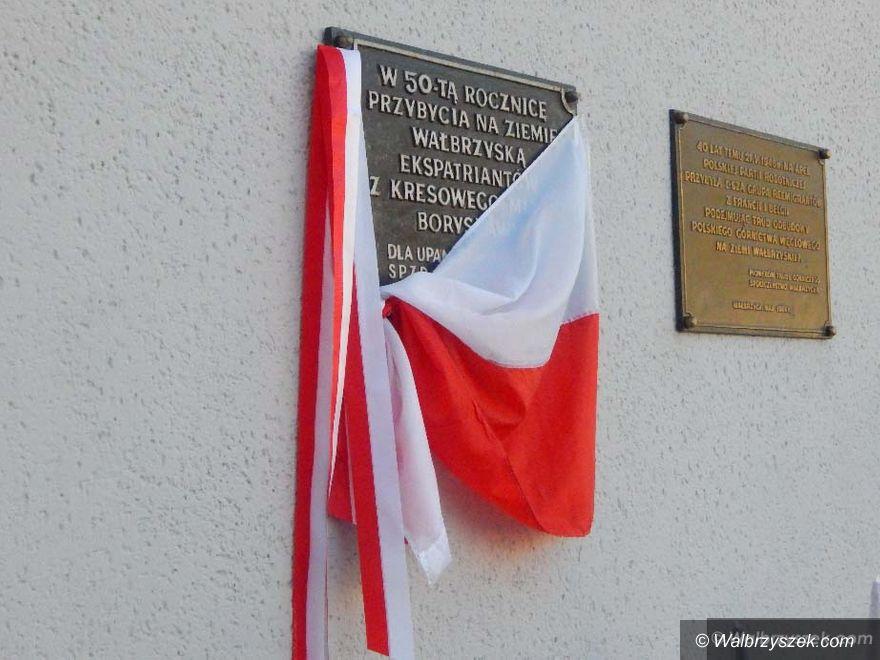 Wałbrzych: Odsłonięcie pamiątkowej tablicy