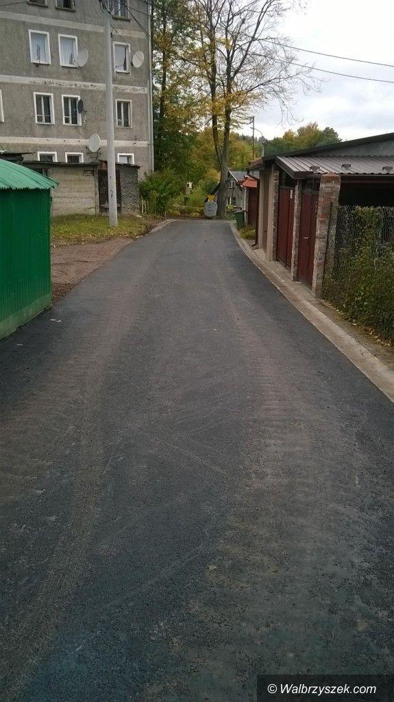 Gmina Walim: Inwestycje drogowe w gminie Walim