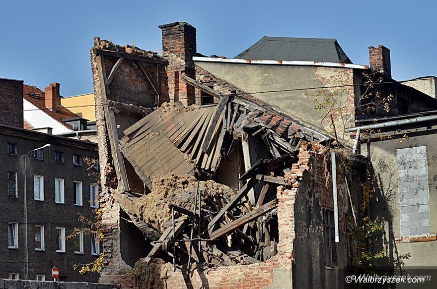 Wałbrzych: Zawaliła się kamienica w centrum miasta – nikt nie ucierpiał