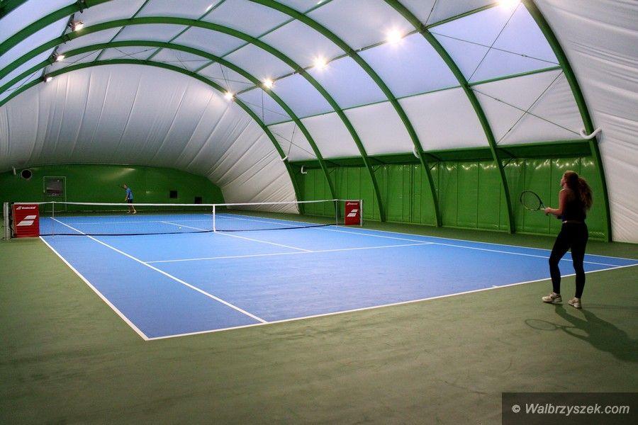 Niewiarygodnie Nowa hala tenisowa w Szczawnie–Zdroju - Wałbrzyszek.com SO57