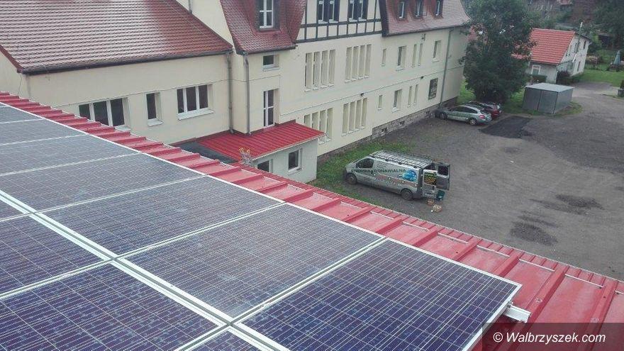 REGION, Głuszyca: Głuszyckie szkoły produkują energię ze źródeł odnawialnych