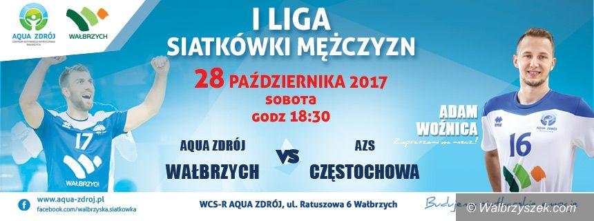 Wałbrzych: I liga siatkówki: Starcie z 6–krotnym Mistrzem Polski