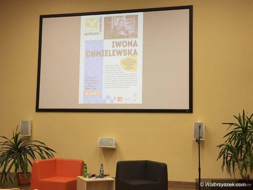 Wałbrzych: Spotkanie z Iwoną Chmielewską, twórcą picturebooks