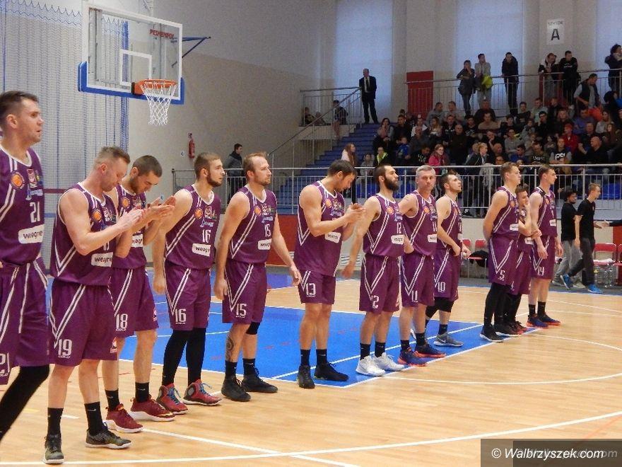 Wałbrzych: II liga koszykówki: Górnik na fali, seria zwycięstw trwa