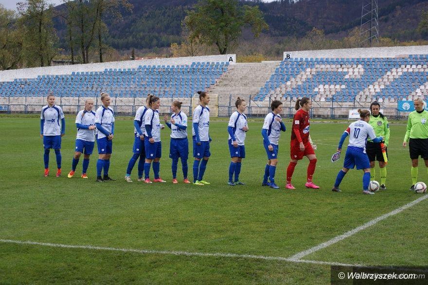 Wałbrzych: Ekstraliga piłkarska kobiet: SMS odesłany bez punktów