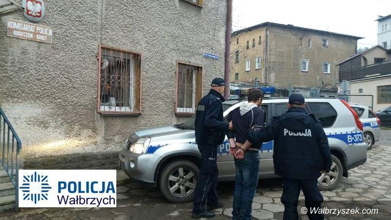 REGION, Boguszów-Gorce: Zaatakował mężczyznę młotkiem