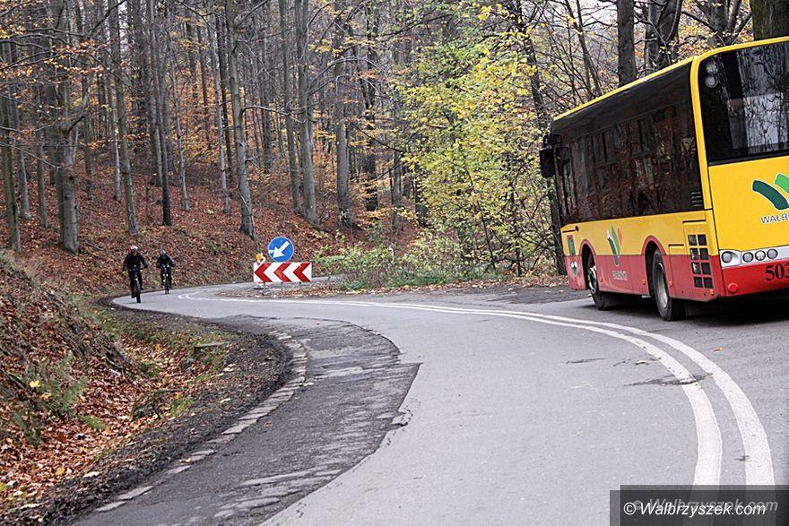 Wałbrzych: Kolejny odcinek ulicy Moniuszki jest remontowany