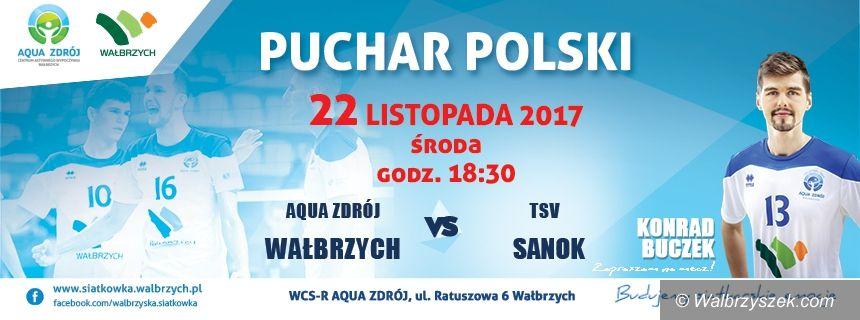 Wałbrzych: Z Sanokiem zagramy w ramach Pucharu Polski