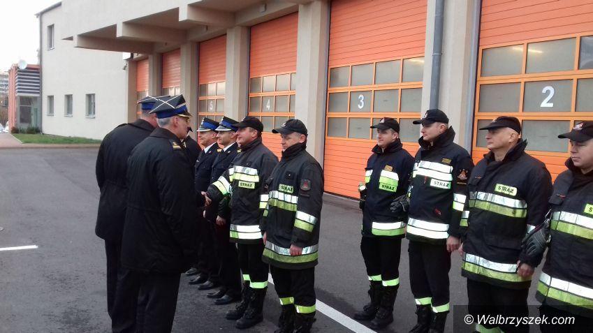 Wałbrzych: Strażacy z nagrodami i awansami