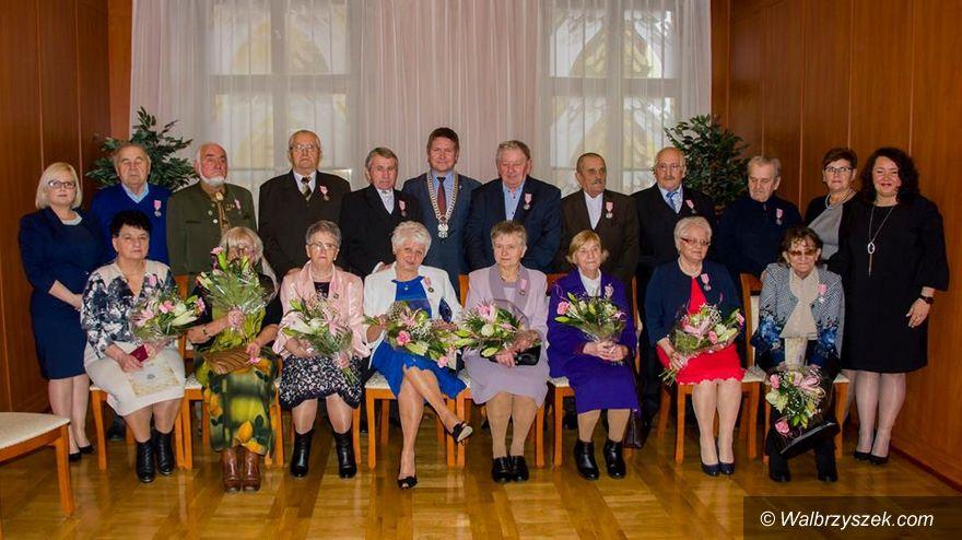 REGION, Mieroszów: Jubileusze małżeńskie w gminie Mieroszów