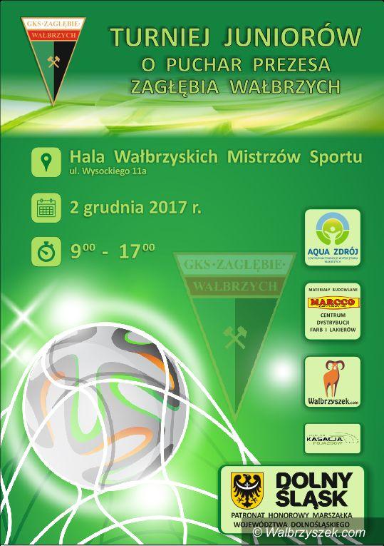 Wałbrzych: Zagrają juniorzy o Puchar Zagłębia Wałbrzych