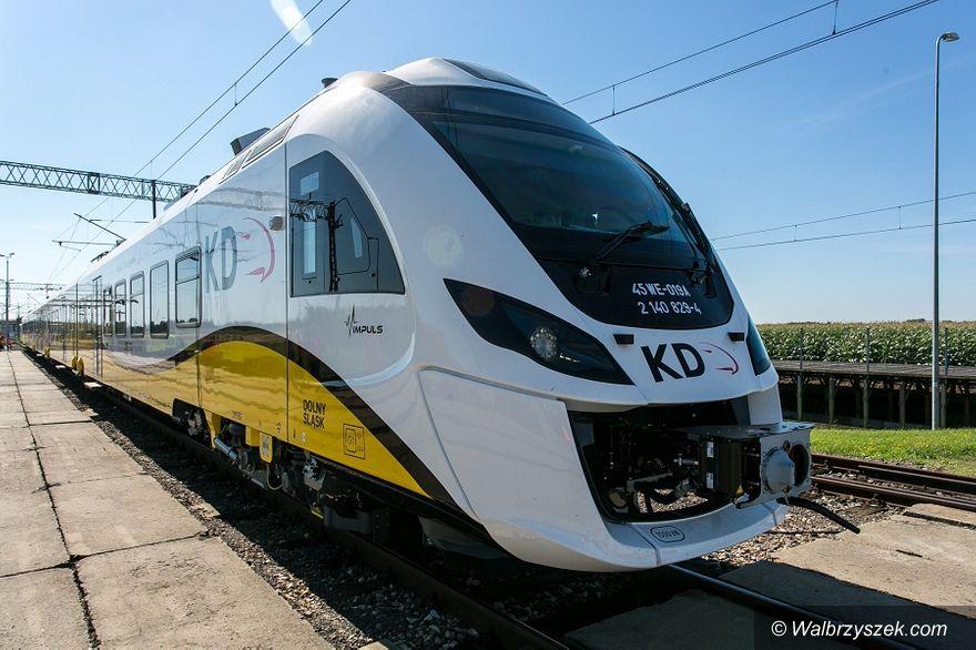 Wałbrzych/REGION: Nowy rozkład jazdy Kolei Dolnośląskich