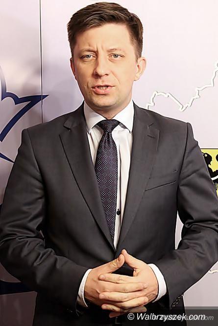 Wałbrzych/REGION: Poseł Michał Dworczyk podsumowuje dwa lata swojej kadencji poselskiej
