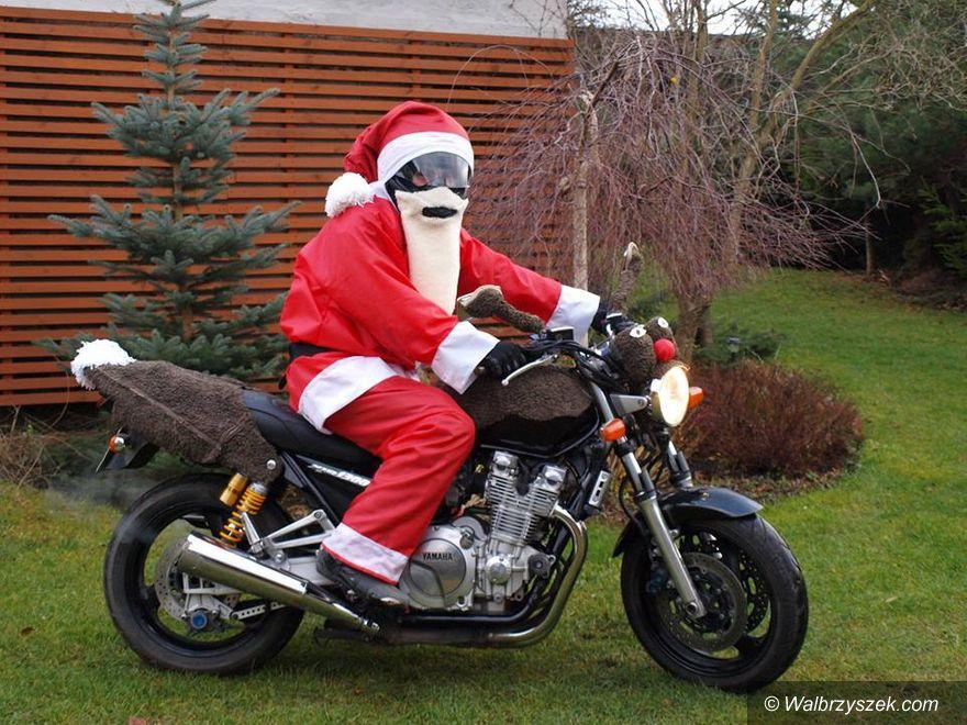 Wałbrzych: Motocykliści włączają się w zbieranie prezentów dla dzieci