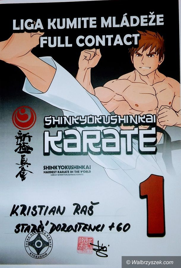 Wałbrzych: Mistrzostwa Czeskiej Republiki w Krate Shinkyokushin/Full Contact Karate z udziałem wałbrzyszan