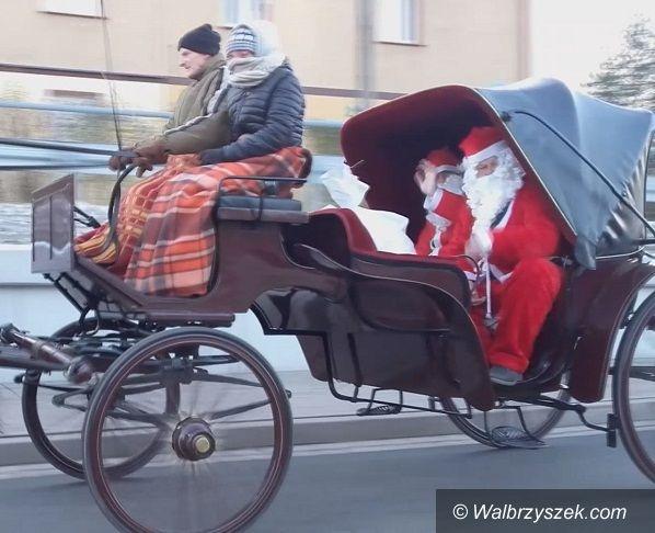 Wałbrzych: Mikołaj odwiedził dzieci ze Szczawienka