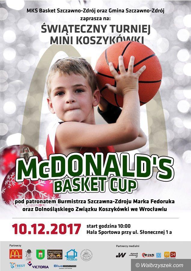 Szczawno-Zdrój: Przed nami Świąteczny Turniej Mini Koszykówki