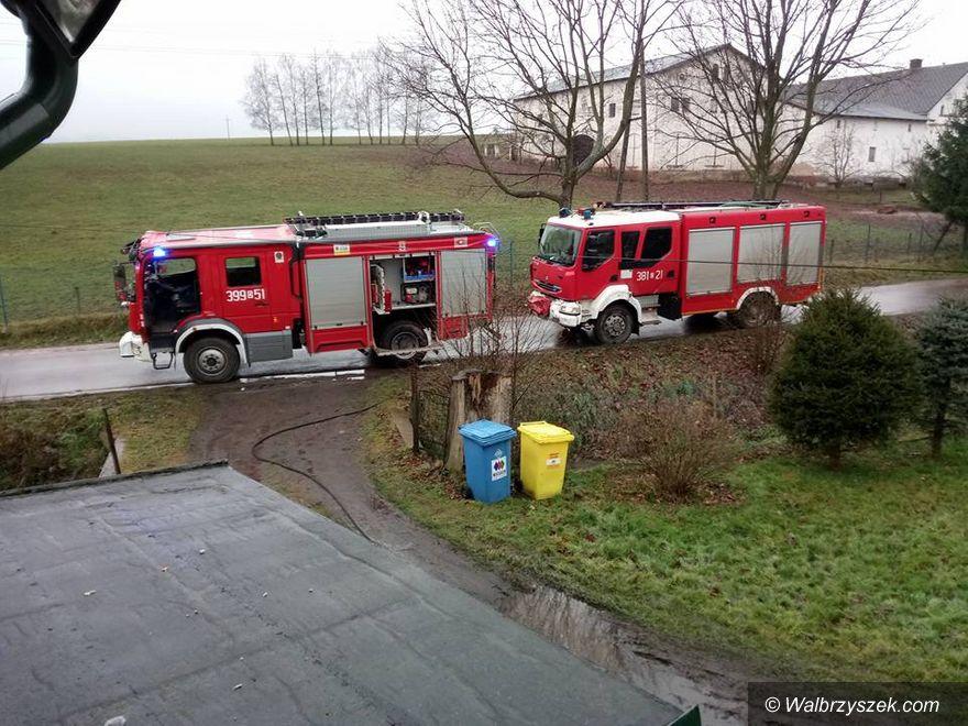 powiat wałbrzyski: Bez pomocy strażaków ani rusz...