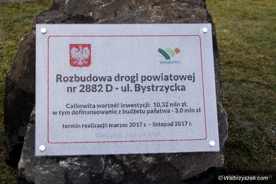 Wałbrzych: Bystrzycka oficjalnie otwarta