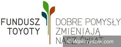 Wałbrzych/powiat wałbrzyski: Laureaci VIII edycji konkursu Fundusz Toyoty 2018