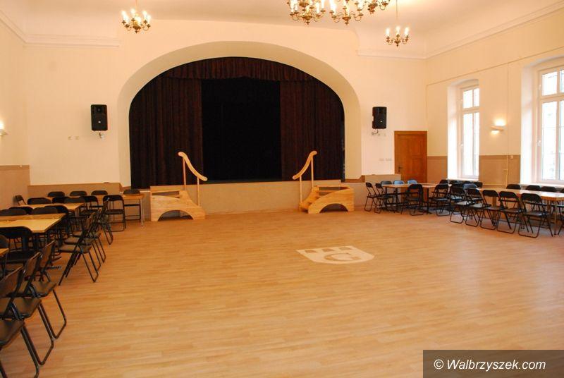 REGION, Głuszyca: Sala widowiskowa po remoncie