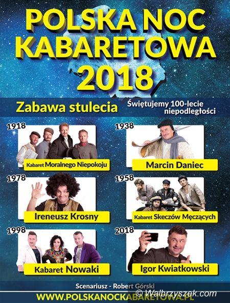 Wałbrzych: Polska Noc Kabaretowa ponownie zawita do Wałbrzycha