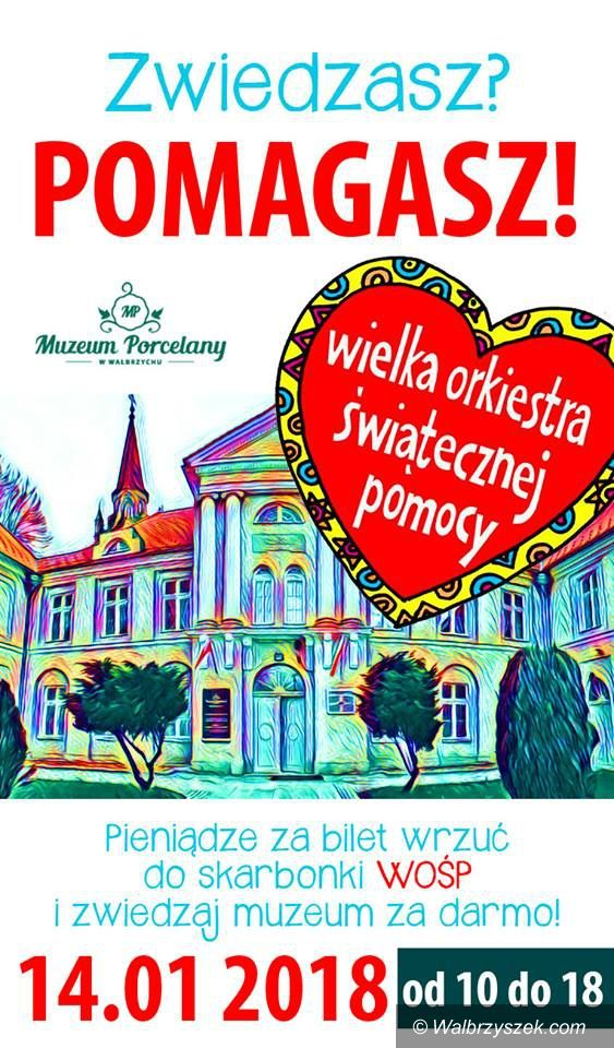 Wałbrzych: Muzeum dla WOŚP