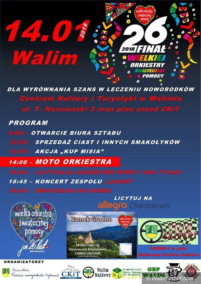 REGION, Walim: WOŚP w gminie Walim