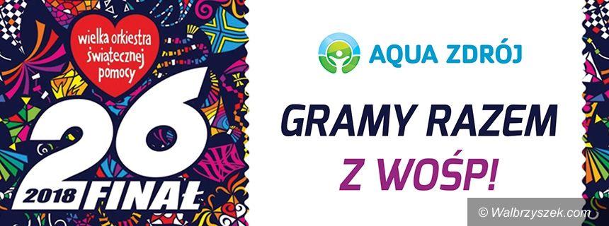 Wałbrzych: Aqua Zdrój gra razem z WOŚP