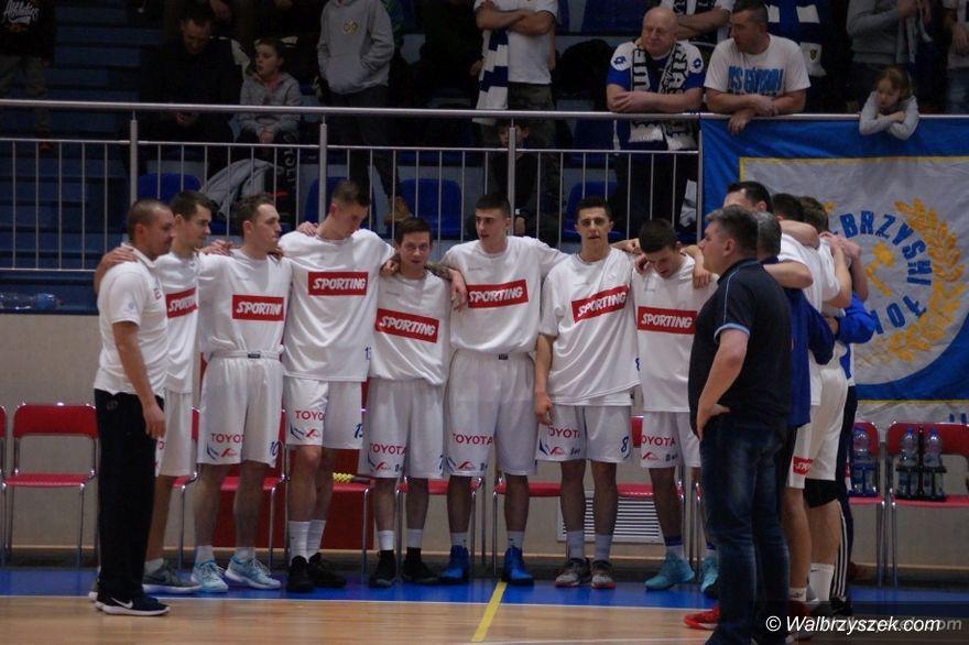 Wałbrzych: II liga koszykówki: Górnik odjechał w drugiej kwarcie
