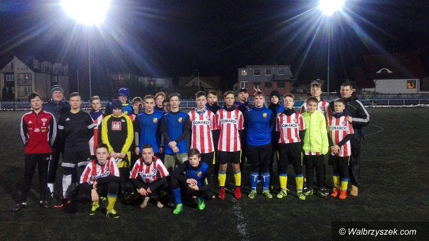 Wałbrzych: Młodzi piłkarze Victorii Wałbrzych na obozie w Międzyzdrojach