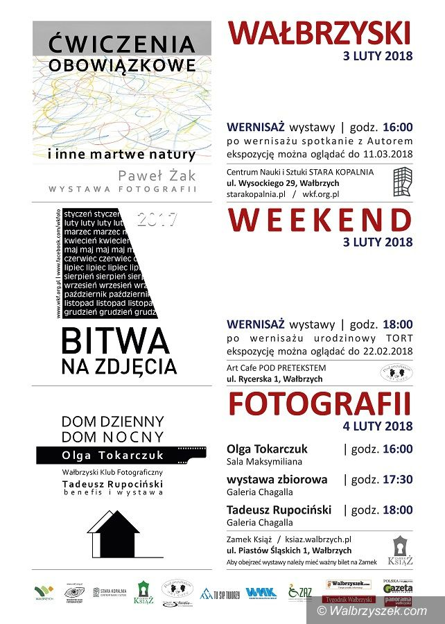 Wałbrzych: Przed nami weekend pełen fotografii