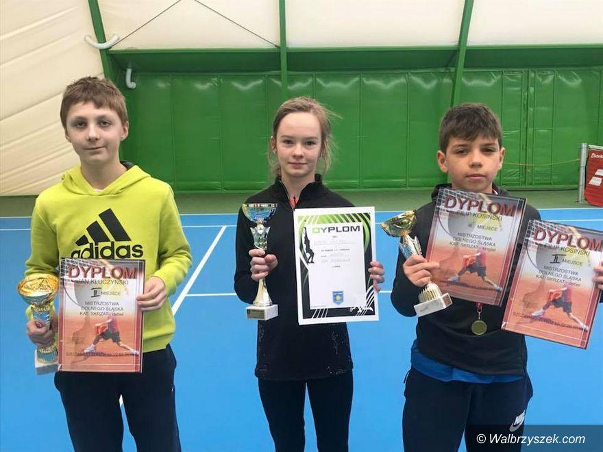Szczawno-Zdrój: Worek medali szczawieńskich tenisistów