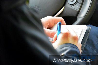 Wałbrzych: Kierował pojazdem mimo wydanego zakazu