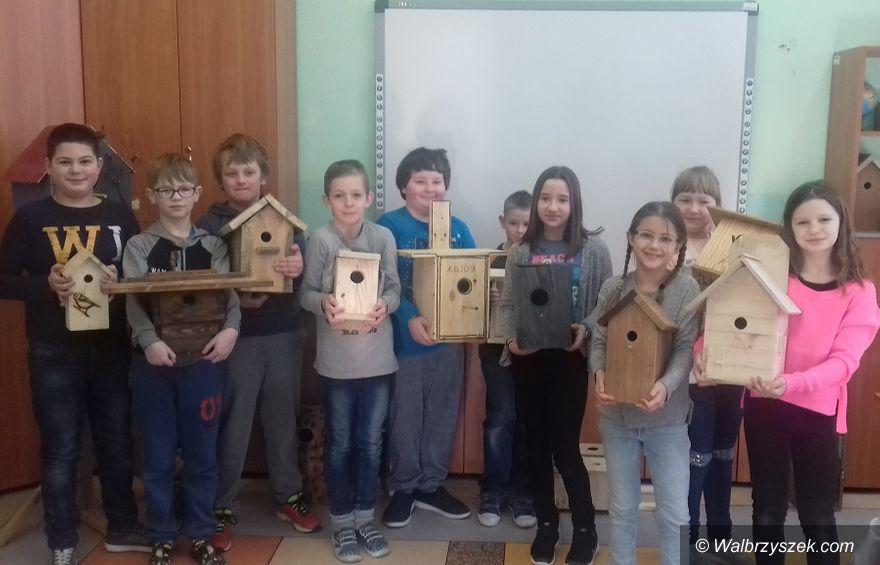 REGION, Szczawno-Zdrój: Szczawieńscy uczniowie pomagają ptakom