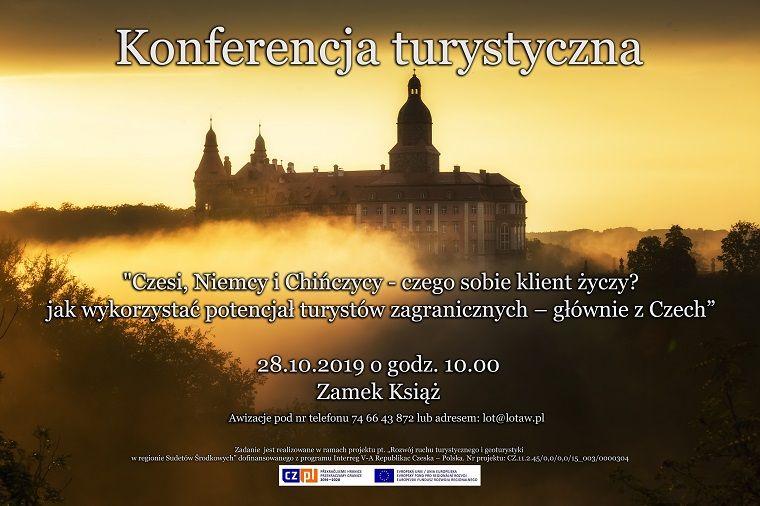 Wałbrzych: Konferencja turystyczna