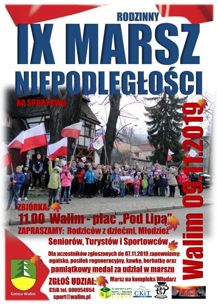 Walim: Sportowy marsz